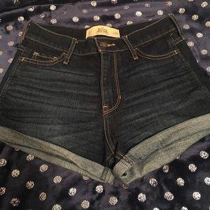High Waisted Hollister Shorts